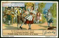 Sicily Tarantella Dance Italy Italian Music Custom 1930s Trade Ad Card