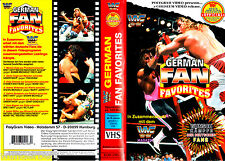 "VHS - "" WWF - German Fan Favorites - WRESTLING "" - 120 min."