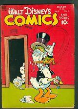 Walt Disney Comics & Stories #90-Golden Age 1948; Donald Duck Vintage; Dell