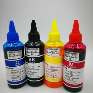 DYE SUBLIMATION INK 100ML BOTTLES FOR EPSON ET-2720 ET- 2760 PRINTERS NON - OEM