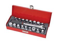 Universal Tapón de drenaje clave Socket Set Recolector De Aceite Eje sockets herramienta de mano de garaje