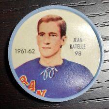 1961-62 Shirriff / Salada Hockey Coin #98 Jean Ratelle New York Rangers