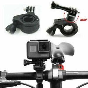 Für GoPro 360° Klemme Halterung Motorrad Fahrrad Rohr Lenker ActionCamera