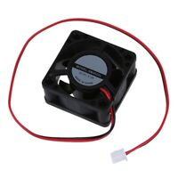 12V DC 40mm 20mm 2 Wire Computer PC CPU Cooling Case Fan G1W9 w0