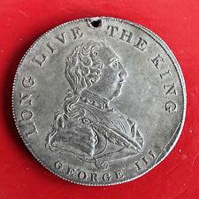 1810 GEORGE III GOLDEN JUBILEE 42mm WHITE METAL MEDAL