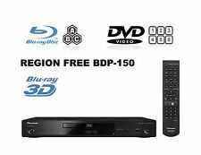 NEW Pioneer BDP-150 3D Multi Region Free A B&C (DVD 1-8) Blu-Ray Player ISO SACD