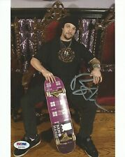 Viva La Bam Margera Signed Jackass 8x10 Photo PSA/DNA COA Autograph CKY Auto'd 1