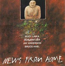 RUDY LINKA QUARTET – NEWS FROM HOME (1992 JAZZ CD CZECHOSLOVAKIA)