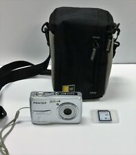 Pentax Optio E-40 8.1 Megapixel 3x Zoom Digital Camera BUNDLE