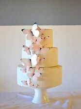 Edible Butterflies - Baby Pink Set of 15 - Cake and Cupcake Toppers, Decoration