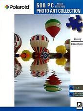 "Jigsaw Puzzle 500pc Polaroid Rising Hot Air Balloons 11""x 18-1/4"" NEW #TY47"