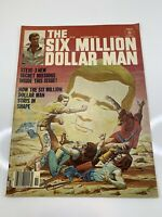 The Six Million Dollar Man Vol 1 No #3 Comic Magazine 1976 Charlton Publications
