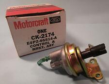Motorcraft OEM Carburetor Choke Pull Off Control and Bracket Assembly 84 Tempo