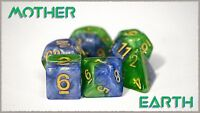 Halfsies Dice: Mother Earth (7 Dice Polyhedral Set) GKG523
