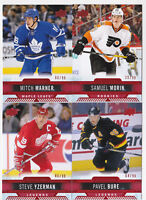 17-18 Upper Deck Overtime Mitch Marner /99 RED Parallel Maple Leafs 2017