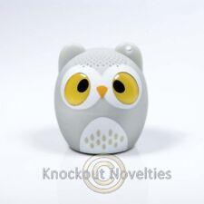 Owl Speaker Fun Novelty Animal Wireless Bluetooth Blue Tooth Music Listen Audio