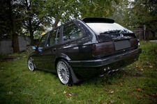 P For BMW E30 Touring RARE roof spoiler rear door trim trunk lip Valance addon