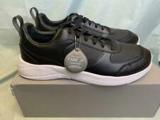 CARE OF by PUMA Men's Leather Low-Top Casual Sneakers Shoe Black, Size 13M