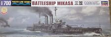 1/700 IJN Battleship MIKASA 1904-05 RJW Russo-Japanese War *NEW* 2016 Hasegawa