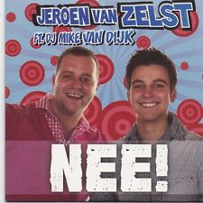Jeroen Van Zelst-Nee cd single