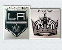 Los Angeles Kings Iron On Patch Choice of Style Free Shippin in Envelope Mail