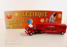 Verem Solido ref 824 Tracteur Renault caisse cirque Arlette GRUSS 1/60