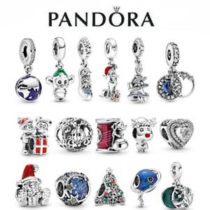 Genuine Disney Christmas ALE S925 Sterling Silver Authentic Pandora Charm