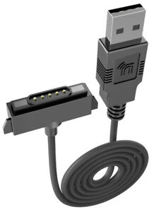 EXTRA LONG Black 6ft Rugged USB Charger/Sync/Magnet Cable for Sonim XP5 XP6 XP7
