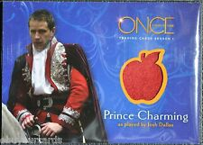 Once Upon a Time M09 Prince Charming Wardrobe Costume Prop Trading Card Disney