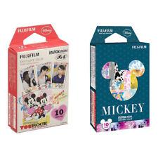 Disney Mickey FujiFilm Instax Mini Film Polaroid 20 Instant Photos Value Set
