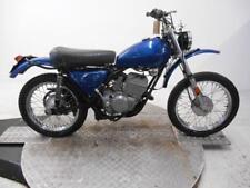 1975 Harley Davidson SX175 Unregistered US Import Barn Find Restoration Project