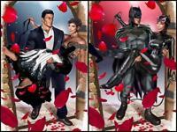 BATMAN #50 GREG HORN 2 PACK VARIANT SET DC COMICS WEDDING CATWOMAN JOKER