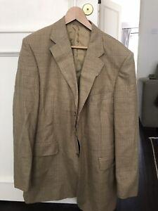 Ede and Ravenscroft Vintage Wool/silk Blend Mens Blazer Jacket