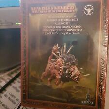Warhammer -  Citadel - Razorgor  homme bête référence 81-14 NEUF sous CELLOPHANE