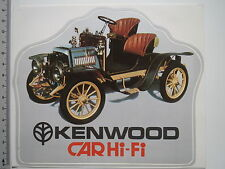 Adesivo sticker Kenwood car hi-fi auto d'epoca (m1864)