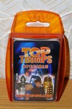 Top Trumps Specials Doctor Who Winning Moves 2006 Tenth Doctor & Rose Tyler Good