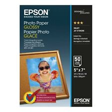 "Original Epson 7x5"" Glossy Photo Paper 200gsm 50 Sheets (C13S042545)"