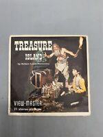 1958 Vintage SAWYERS View Master TREASURE ISLAND reel set Adventure B 432
