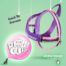 Ezydog Quick Fit Dog Harnesses Bubblegum
