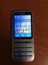 NOKIA C3-01 Silver PHONE - BLUETOOTH - 5MP CAMERA - 3G - WIFI