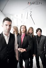 """Maroon 5 """"Group Standing Behind Adam Levine"""" Poster From Asia"""