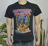 RaRe *1990 TESTAMENT* vintage rock concert tour t-shirt (M) 80s Thrash Metal