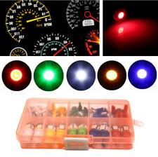 40x Car Auto T5 T10 LED 5050 SMD Instrument Panel Dashboard Light Bulb Lamp 12V