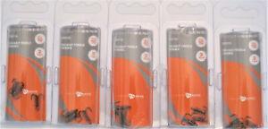 5 Packs (15 Hooks Total) SB Fishing DBT-10 Do-Bait Treble Fish Hooks Size 10