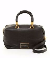 NWT Marc by Marc Jacobs Black Leather Too Hot To Handle Satchel Crossbody Bag