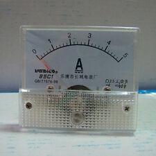 1pcs 85c1 A Analog Current Panel Meter Dc 5a Ammeter Ampere Gauge Tester