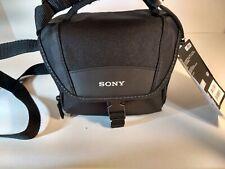 Sony JAPAN Original Soft carrying case LCS-U11BC Black For Digital Video Camera