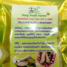 Herbal foot Soak Spa Salt & Herb relax Foot sores relieve fatigue of the feet
