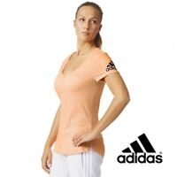 Adidas Womens VT T-Shirt Fitness Top Gym Workout Free Tracked Delivery