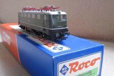 Roco 43957 E41 072 Verde Marco Negro,Techo Aluminio,Faros Izquierda,AC Marklin